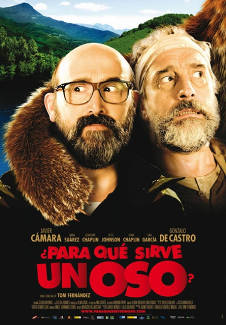 ¿Para qué sirve un oso?, cartel película ¿para qué sirve un oso?, retoque photoshop, katanga73, katanga73.wordpress.com, katarama