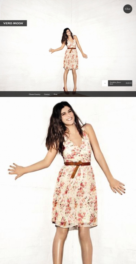 Vero Moda, Colección Primavera, retoque photoshop, CSI FX, katanga73, katanga73.wordspress.com, katarama