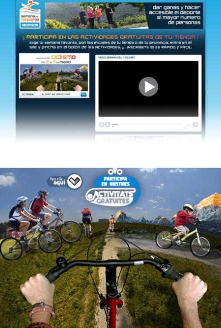Decathlon, Semana del Deporte, Setmana del Ciclisme, retoque photoshop, katanga73, katanga73.wordpress.com, katarama