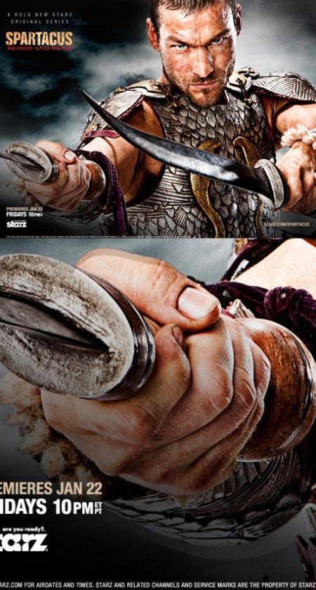 Spartacus: Sangre y Arena, Spartacus: Blood and Sand, Spartacus Starz, Spartacus promo, retoque photoshop, katanga73, katanga73.wordpress.com, katarama