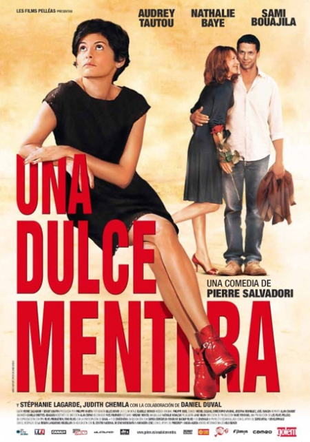 Una Dulce Mentira, Una Dulce Mentira poster, Una Dulce Mentira cartel película, retoque photoshop, katanga73, katanga73.wordpress.com, katarama