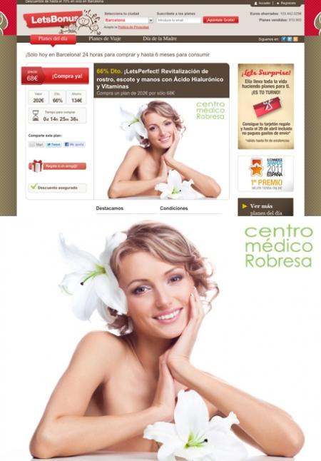 Centro Médico Robresa, Programa Let's Perfect Centro Médico Robresa, LetsBonus, retoque photoshop, katanga73, katanga73.wordpress.com, katarama