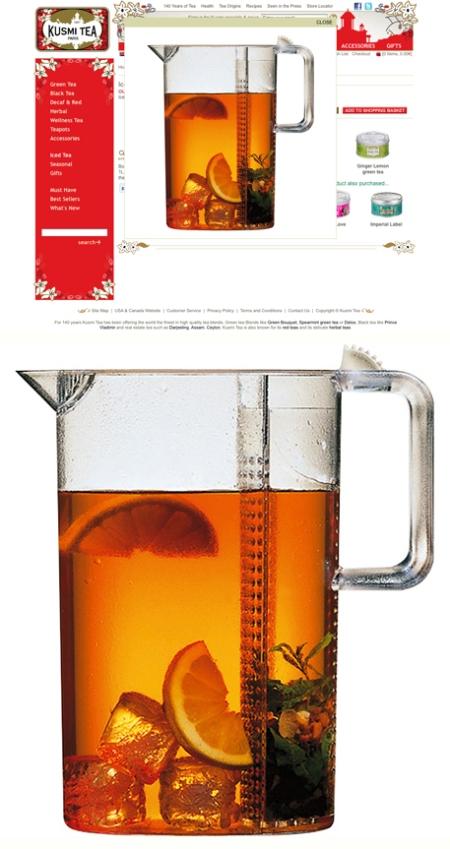 Kusmi Tea, Kusmi Tea Teapots, Kusmi Tea jarras, Kusmi Tea retoque photoshop, katanga73, katanga73.wordpress.com, katarama