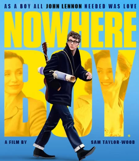 Nowhere Boy cartel, Nowhere Boy poster, Nowhere Boy retoque photoshop, katanga73, katanga73.wordpress.com, katarama