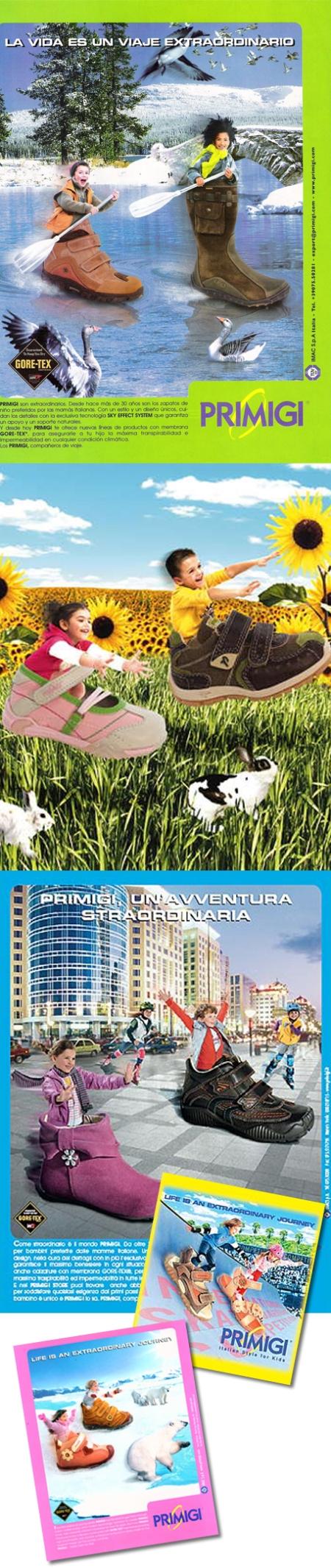 Primigi, Primigi zapatos, Primigi zapatos para niños, Primigi campaña publicitaria, Primigi retoque photoshop, katanga73, katanga73.wordpress.com, katarama