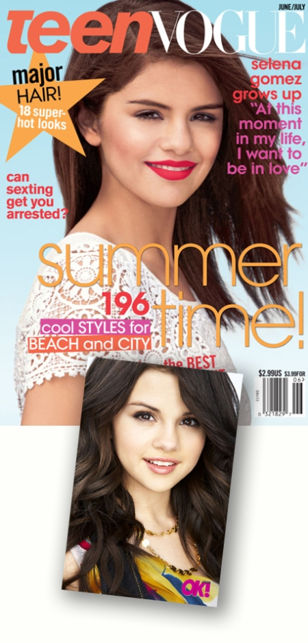 Selena Gomez Teen Vogue, Teen Vogue jun-jul 2011, Selena Gomez Teen Vogue retoque photoshop, katanga73, katanga73.wordpress.com, katarama
