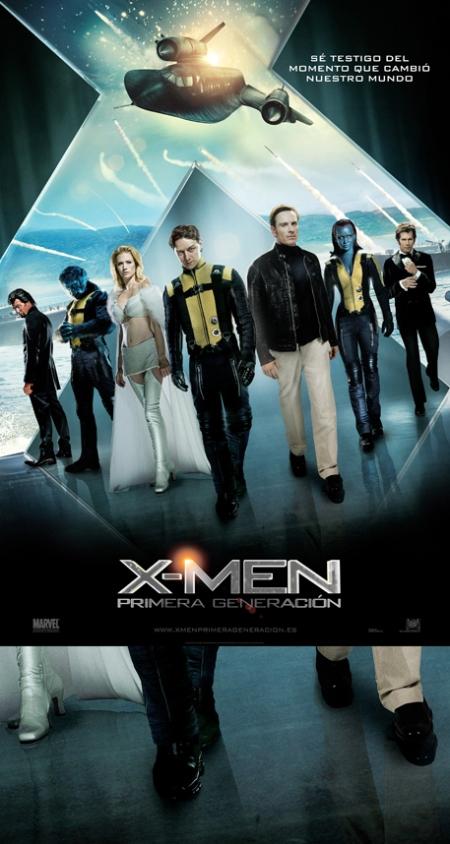 X-Men Primera Generación, X-Men Primera Generación poster, X-Men Primera Generación cartel, X-Men Primera Generación retoque photoshop, katanga73, katanga73.wordpress.com, katarama