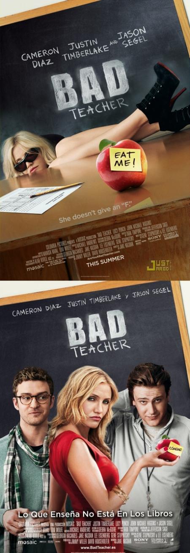 Bad Teacher, Bad Teacher posters, Bad Teacher carteles, Bad Teacher retoque photoshop, katanga73, katanga73.wordpress.com, katarama