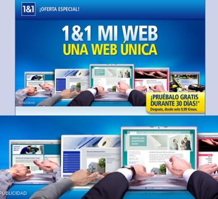 1&1, 1&1 campaña Mi Web, 1&1 retoque photoshop, katanga73, katanga73.wordpress.com, katarama