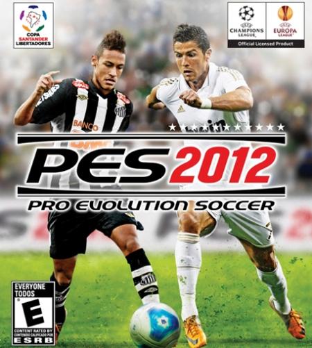 PES 2012, PES 2012 portada, Pro Evolution Soccer 2012, Pro Evolution Soccer 2012 portada, PES 2012 Cristiano Ronaldo y Neymar, PES 2012 retoque photoshop, katarama, katanga73, katanga73.wordpress.com