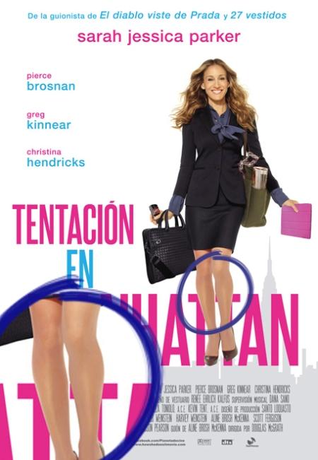 Tentación en Manhattan, Tentación en Manhattan poster, Tentación en Manhattan retoque photoshop, katarama, katanga73, katanga73.wordpress.com