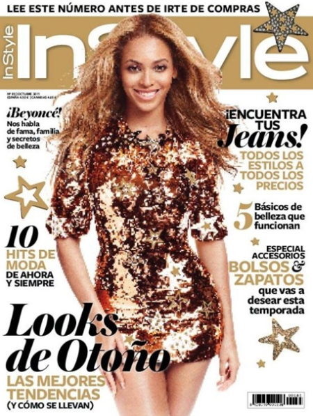 InStyle Beyoncé, InStyle portada Beyoncé, InStyle porta Beyoncé retoque photoshop, katanga73, katanga73.wordpress.com, katarama