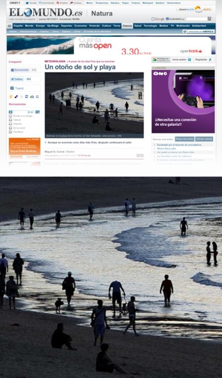 El Mundo, elmundo.es, elmundo.es ciencia, otoño de playa, el mundo retoque photoshop, katanga73, katanga73.wordpress.com, katarama
