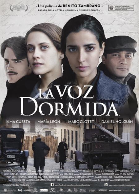 La Voz Dormida, La Voz Dormida poster, La Voz Dormida cartel, katanga73, katanga73.wordpress.com, katarama