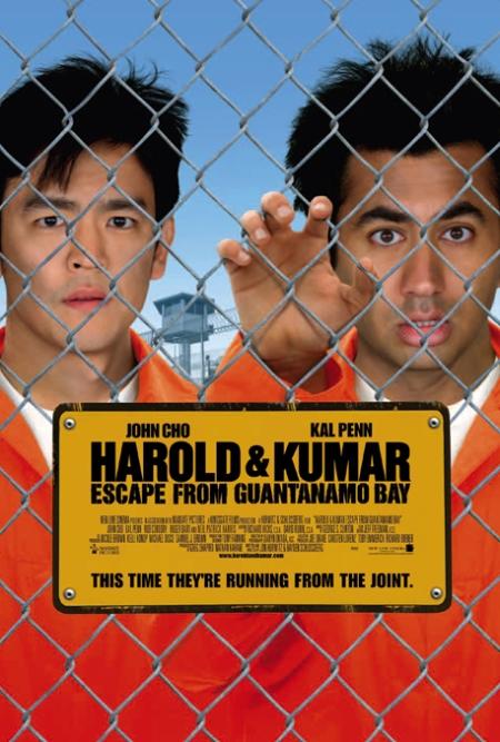 Harold & Kumar, Harold & Kumar escape from guantanamo, Harold & Kumar poster, Harold & Kumar retoque photoshop, katanga73, katanga73.wordpress.com, katarama