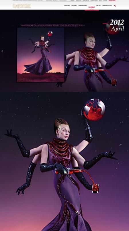 Campari 2012, calendario campari 2012, calendario campari 2012 retoque photoshop, katanga73, katanga73.wordpress.com, katarama