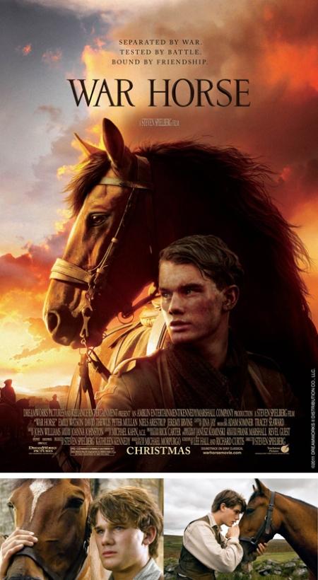 War Horse cartel, War Horse poster, Caballo de Batalla, Caballo de Batalla cartel, Caballo de batalla poster, war horse retoque photoshop, caballo de batalla retoque photoshop, katanga73, katanga73.wordpress.com, katarama