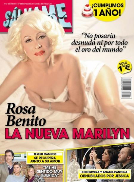 Sálvame Rosa Benito, portada Sálvame Rosa Benito, revista Sálvame Rosa Benito, Sálvame Rosa Benito retoque photoshop, katanga73, katanga73.wordpress.com, katarama