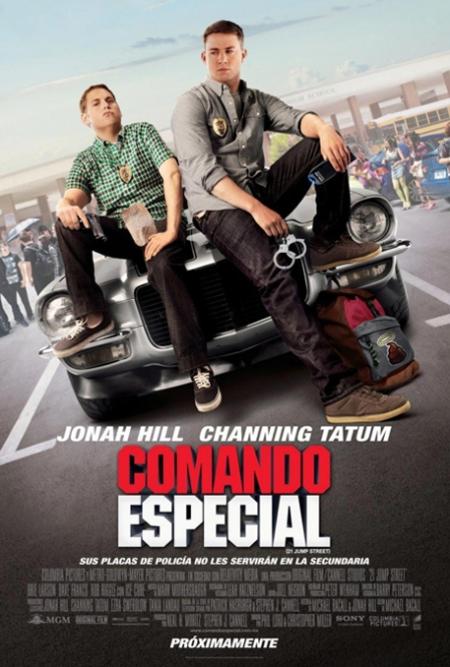 Comando Especial (21 Jump Street) poster, Comando Especial (21 Jump Street) cartel, Comando Especial (21 Jump Street) retoque photoshop, katanga73, katanga73.wordpress.com, katarama