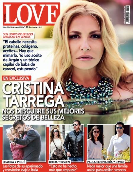 LOVE Cristina Tárrega, revista Love Cristina Tárrega, portada Love Cristina Tárrega, love cristina tárrega retoque photoshop, katanga73, katanga73.wordpress.com, katarama