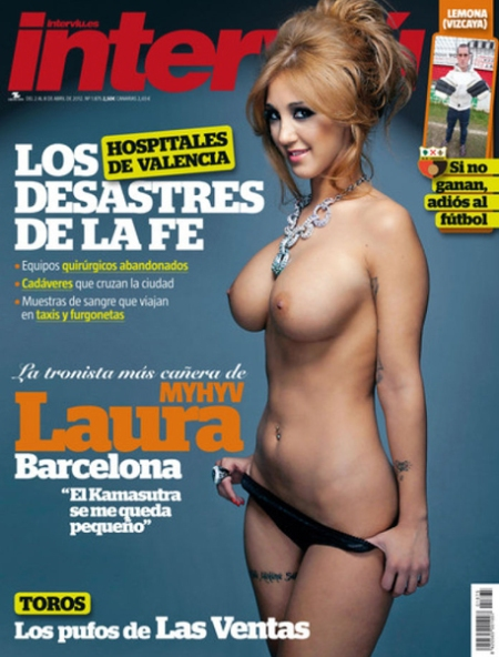 Laura Barcelona Interviu, Laura MHYV Interviu, laura barcelona portada interviu, laura barcelona interviu retoque photoshop, katanga73, katanga73.wordpress.com, katarama