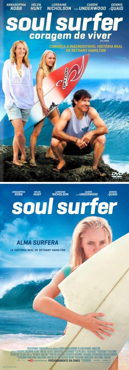 Soul Surfer poster, soul surfer cartel, soul surfer retoque photoshop, katanga73, katanga73.wordpress.com, katarama
