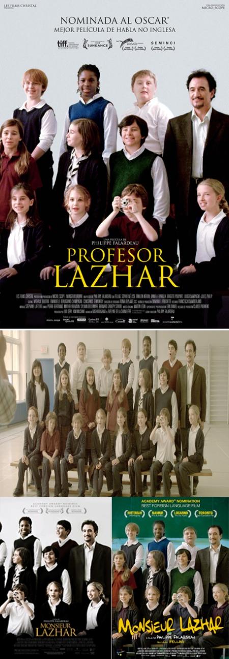 Profesor Lazhar, Monsieur Lazhar, profesor lazhar poster, profesor lazhar cartel, profesor lazhar retoque photoshop, katanga73, katanga73.wordpress.com, katarama