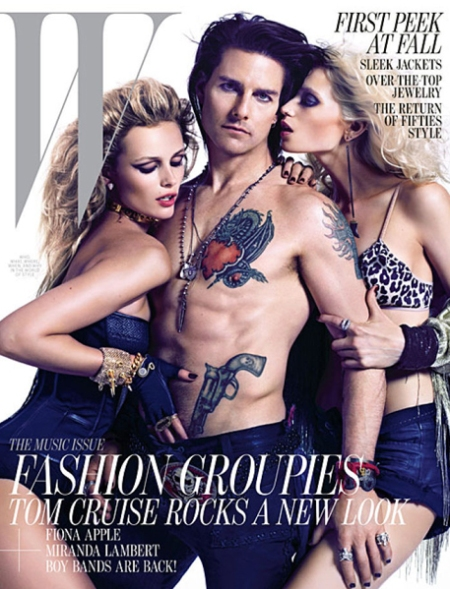 W magazine Tom Cruise, W Tom Cruise, W cover tom cruise, W portada tom cruise, w magazine tom cruise retoque photoshop, katanga73, katanga73.wordpress.com, katarama