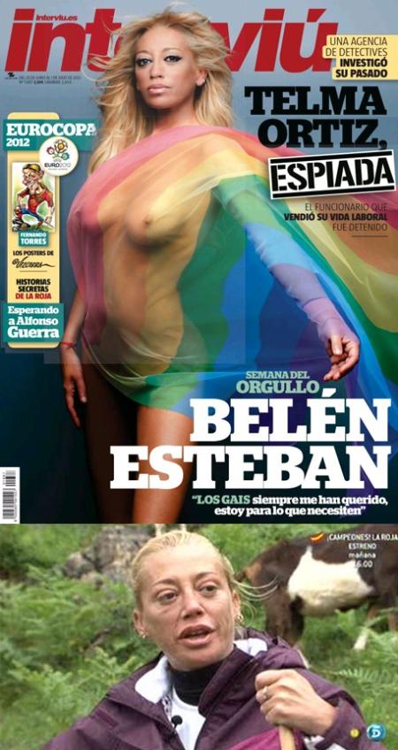 Belén Esteban portada Interviu, belén esteban interviu retoque photoshop, katanga73, katanga73.wordpress.com, katarama