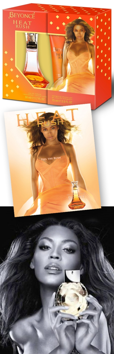 Beyoncé perfumes, beyoncé perfumes retoques photoshop, beyoncé heat rush parfum pack, beyoncé heat rush pack photoshop, beyoncé diamonds photoshop fake, katanga73, katanga73.wordpress.com, katarama