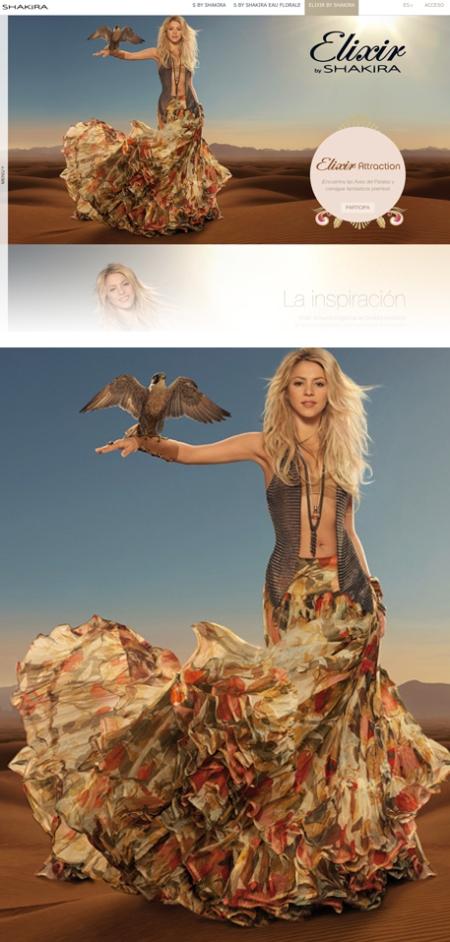Elixir by Shakira, Elixir de Shakira, Elixir by Shakira retoque photoshop, katanga73, katanga73.wordpress.com, katarama