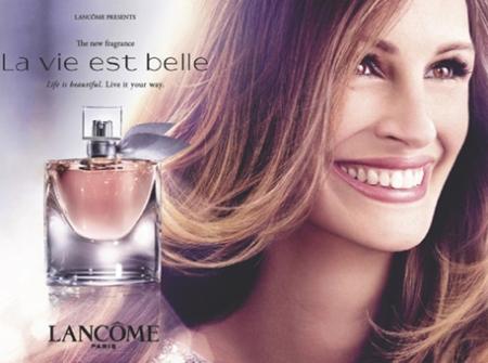 Lancôme Julia Roberts La Vie est Belle, lancome julia roberts la vie est belle retoque photoshop, katanga73, katanga73.wordpress.com, katarama