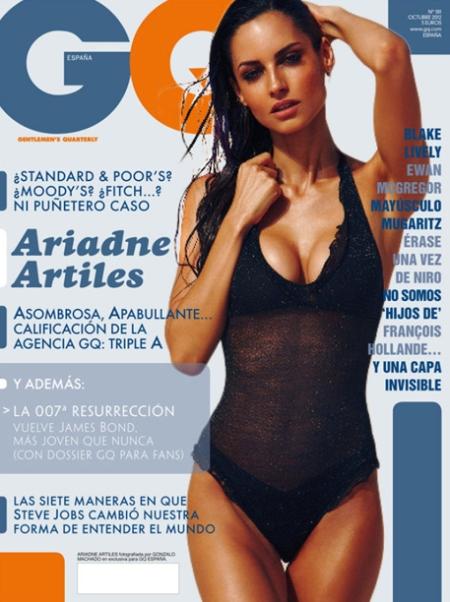 GQ ariadne artiles, GQ portada ariadne artiles, GQ ariadne artiles retoque photoshop, katanga73, katanga73.wordpress.com , katarama