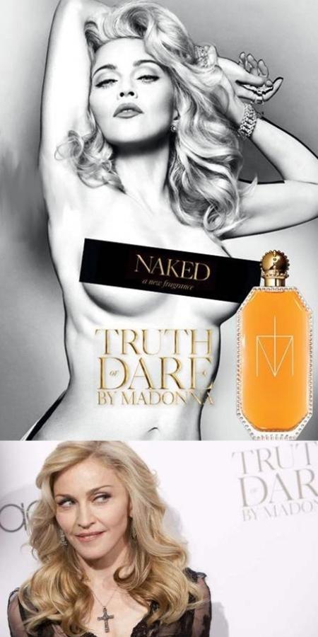 Madonna Naked perfume, Madonna nuevo perfume naked, madonna naked perfume retoque phtoshop, katanga73, katanga73.wordpress.com katarama