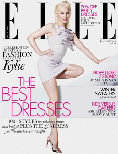 Elle UK Kylie Minogue, Elle uk kylie retoque photoshop, katanga73, katanga73.wordpress.com, katarama