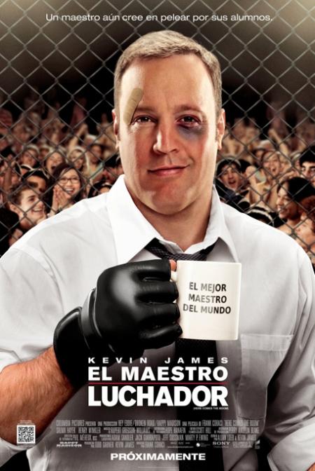 here comes the boom poster, el maestro luchador poster, el maestro luchador retoque photoshop, katanga73, katanga73.wordpress.com, katarama