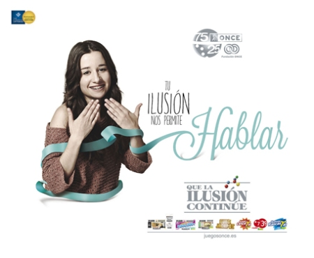 La Once campaña ilusión, la once tu ilusión nos permite hablar, la once ilusión retoque photoshop, katanga73, katanga73.wordpress.com, katarama