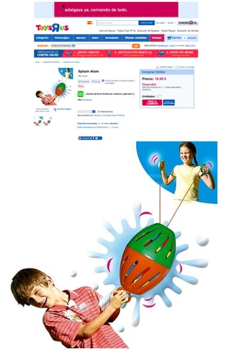 Toys R Us Splahs Atom, roys r us splash atom retoque photoshop, katanga73, katanga73.wordpress.com, katarama