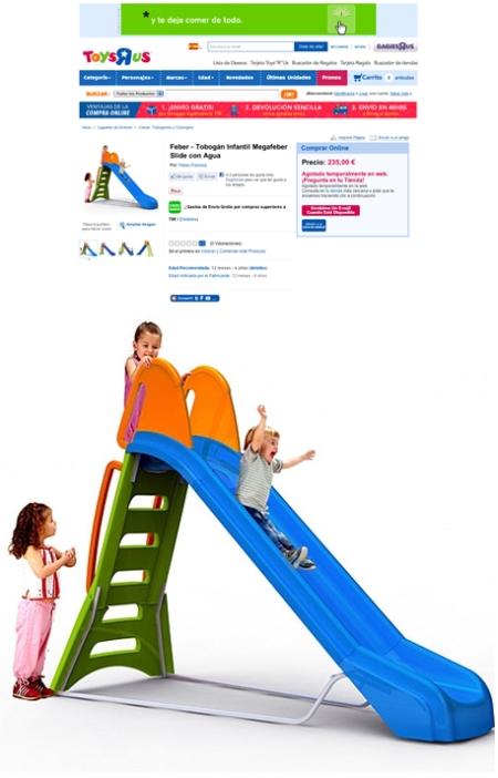 Toys r us tobogan feber, toys r us tobogan feber retoque photoshop, katanga73, katanga73.wordpress.com, katarama