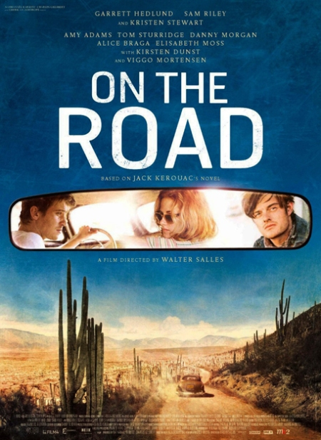 on the road poster, on the road cartel, on the road 2013, on the road retoque photoshop, katanga73, katanga73.wordpress.com, katarama