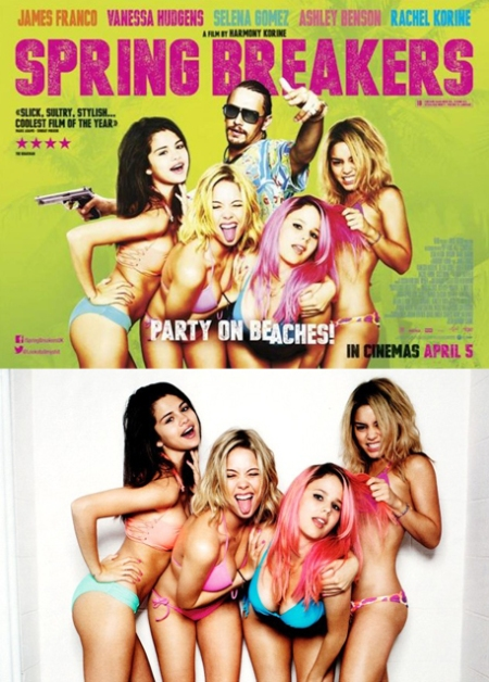 Spring Breakers cartel, spring breakers retoque photoshop, katanga73, katanga73.wordpress.com, katarama