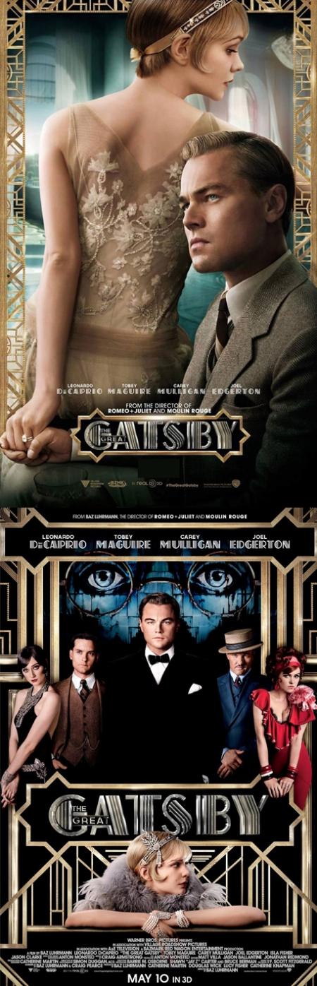 El Gran Gatsby poster, el gran gatsby retoque photoshop, katanga73, katanga73.wordpress.com, katarama