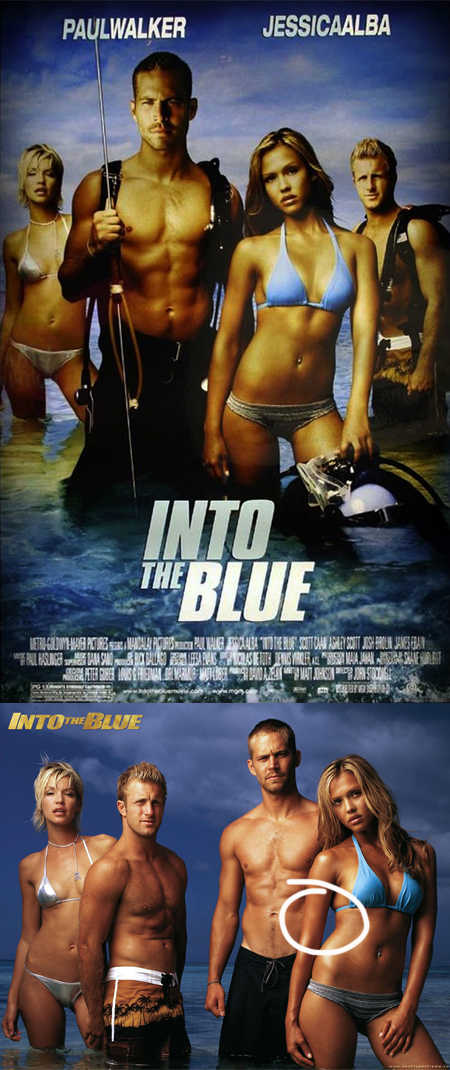 into the blue poster, into the blue cartel, into the blue retoque photoshop, katanga73, katanga73.wordpress.com, katarama