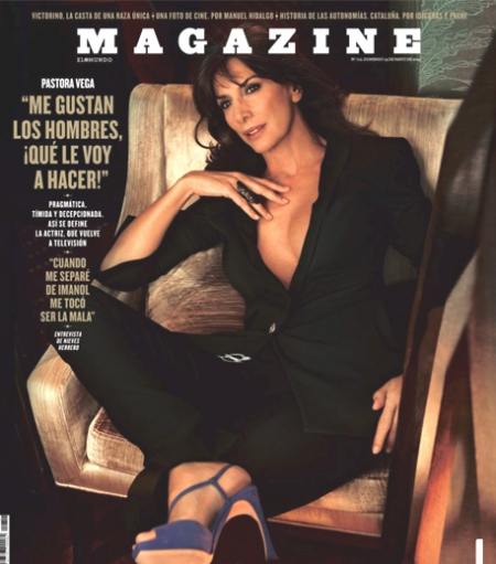 Magazine El Mundo Pastora Vega portada, magazine el mundo retoque photoshop, katanga73, katanga73.wordpress.com, katarama