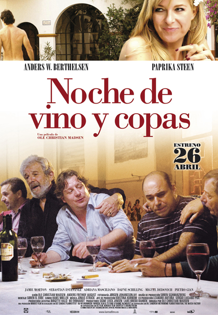 noche de vino y copas póster, noche de vino y copas cartel, noche de vino y copas retoque photoshop, katanga73, katanga73.wordpress.com, katarama