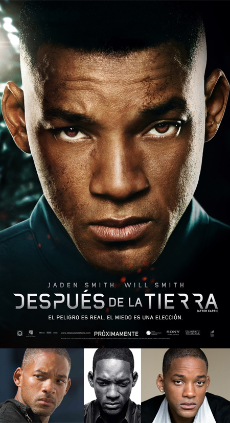 After Earth poster, after earth cartel, after earth will smith, after earth retoque photoshop, katanga73, katanga73.wordpress.com, katarama