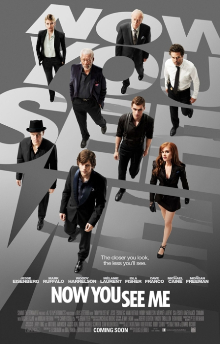 now you see me poster, ahora me ves poster, ahora me ves cartel, now you see me retoque photoshop, ahora me ves retoque photoshop, katanga73, katanga73.wordpress.com, katarama
